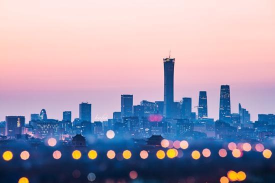 《早安北京》 摄影:@胡 飞