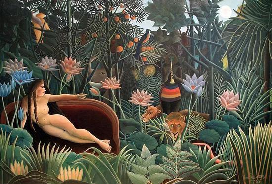 亨利·卢梭,《梦》,1910
