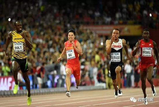 《田径世锦赛短跑项目刮起中国旋风》 新华社 王丽莉 李钢