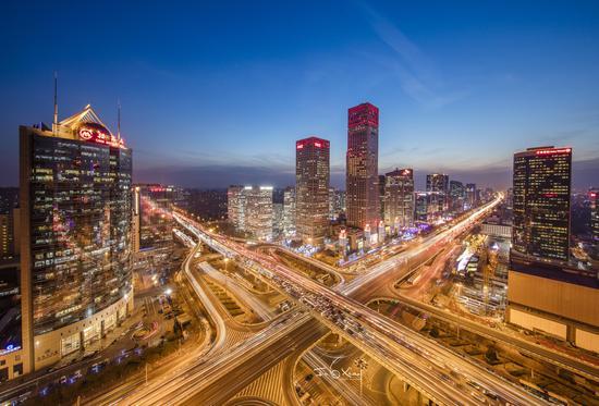 视觉中国500px摄影社区征稿作品——Modern Beijing
