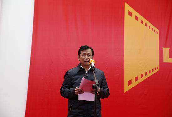 郑州市委宣传部部长张俊峰致辞
