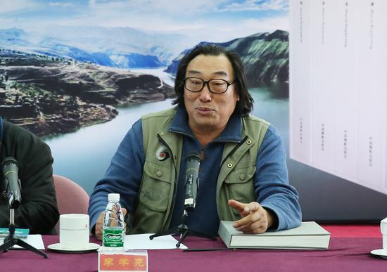 李学亮在研讨会上发言。摄影:徐申
