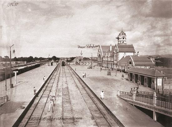 1911年的济南火车站 原载《老照片》第88辑 p127