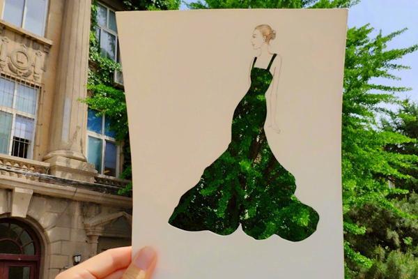 绘心绘语|绿色发展的美丽之约