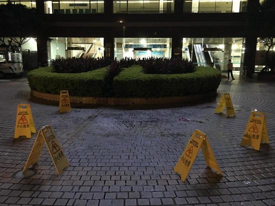 5月8日凌晨广东省人民医院门口