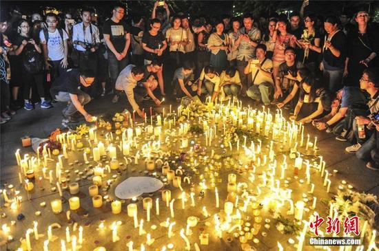5月7日晚广州英雄广场