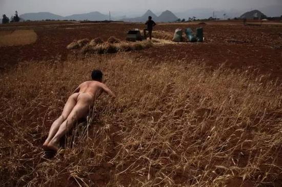 《那一刻》2010年4月3日 贵州兴义 西南特大干旱(民航村七块地麦田)