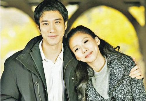 王力宏和妻子李靓蕾