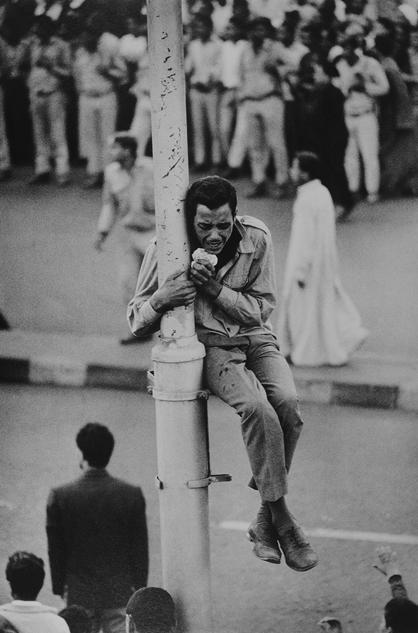 埃及总统纳赛的丧礼,开罗,Bryn Campbell作品,1970