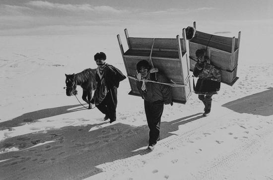 迁徙的游牧族,西藏,Kadir van Lohuizen作品,1998
