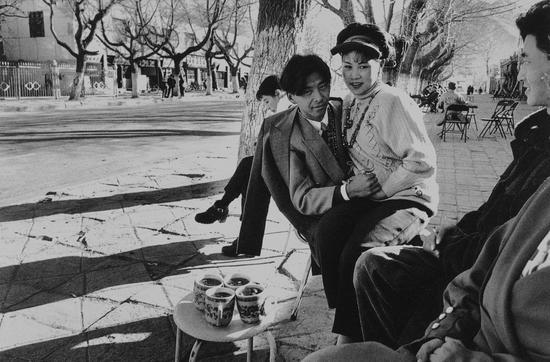 妓女与恩客,西藏,Kadir van Lohuizen作品,1998