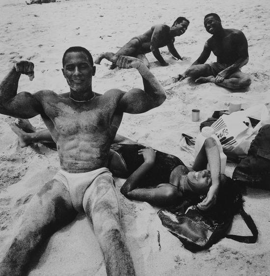 哈瓦那东部海滨,古巴,Gerard Wessel作品,1993