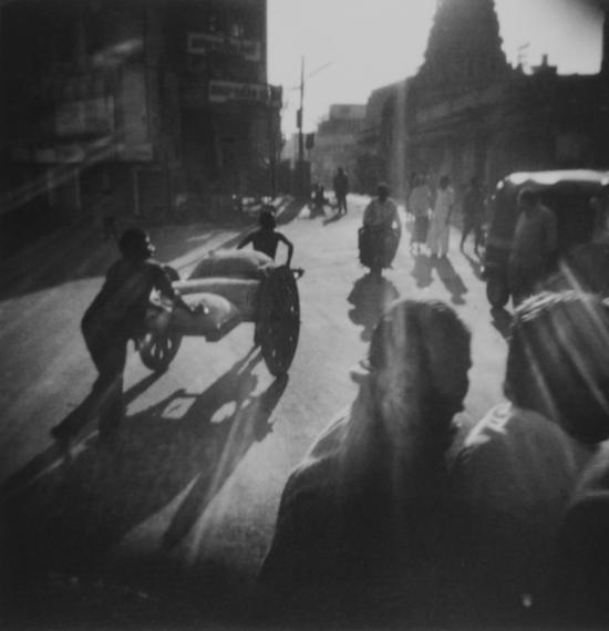 《印度记忆》系列,三轮车,Annu P.Matthew,1996