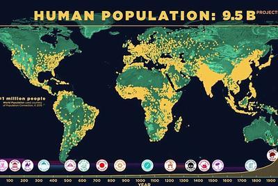 地球人口是如何增长到72亿的:走出非洲时仅不到一百万人