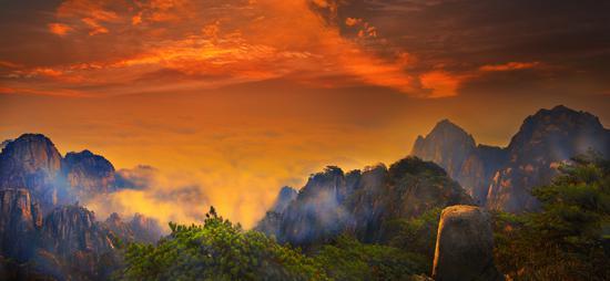 黄山 摄影:肖保良