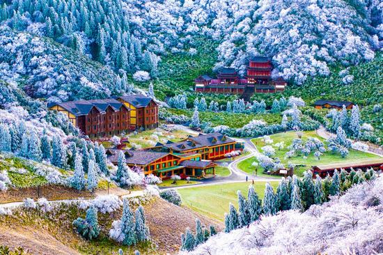 金佛山 摄影:胡波