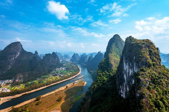 桂林漓江 摄影:杨烁