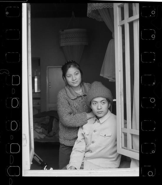 1986年12月,成都,诗人顾城与妻子谢烨