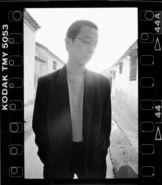 1993年9月,北京,摇滚音乐家窦唯