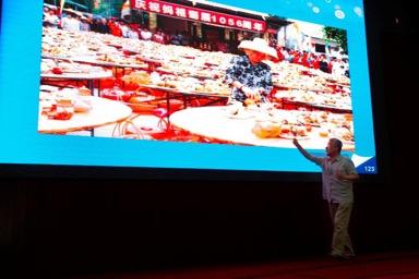 国家新闻出版广电总局原党组成员宋明昌讲座现场。关勇军 摄