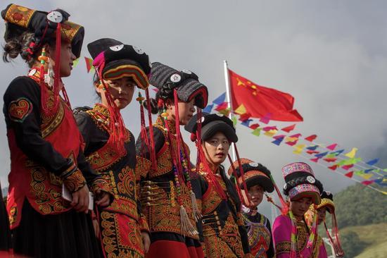 《阳光女儿》甸自林彝族 摄于云南省云龙县漕涧乡