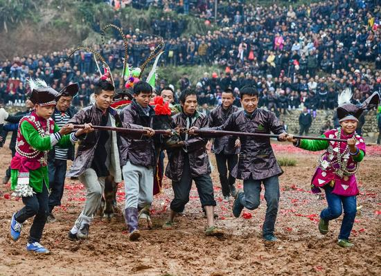 《王者归来》刘咏梅侗族 摄于贵州从江