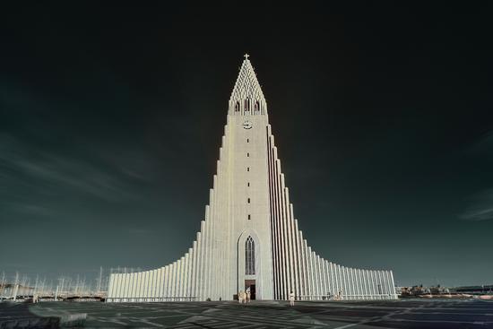 冰岛首都雷克雅未克 大教堂