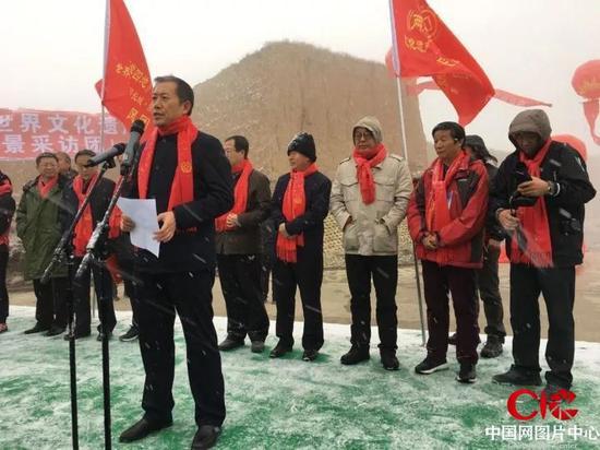 朔州市委常委、宣传部部长王加关讲话