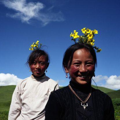 张涛摄影作品:《天堂女儿国——藏族孤儿院》(组图)