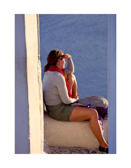 眺望 2013年10月27日摄于希腊
