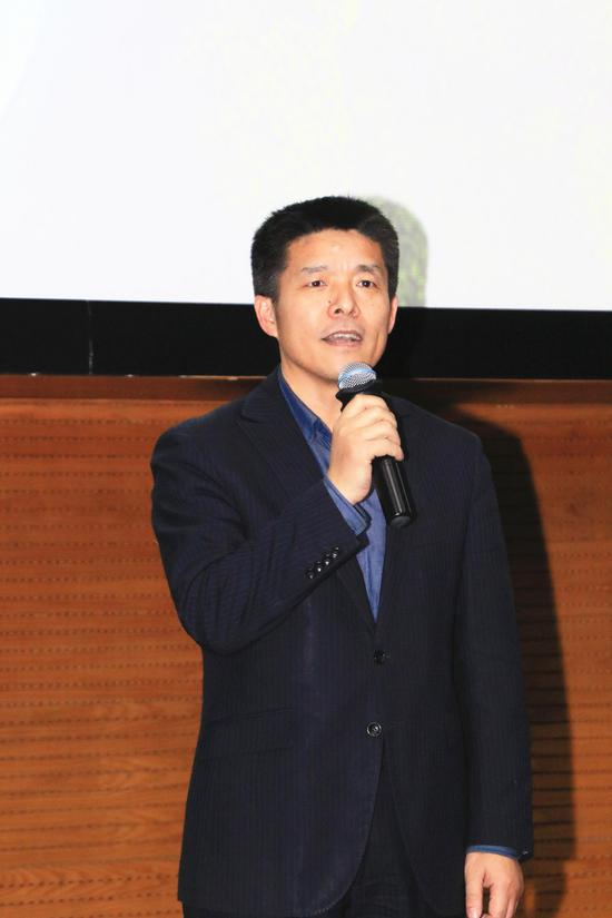 北京汽车博物馆副馆长刘井权为开幕致辞
