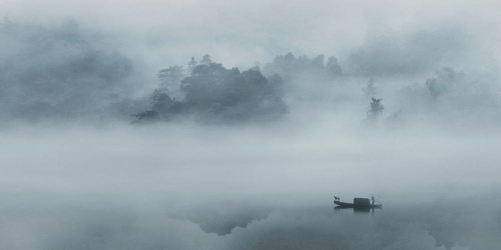 禅意摄影:禅意长流山水间