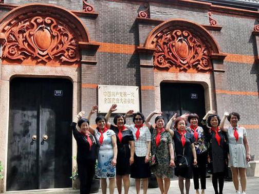 2018年5月13日,上海中共一大会址前。王文扬摄
