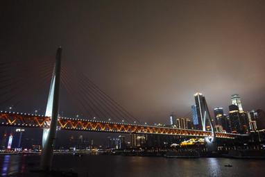 东水门大桥照片