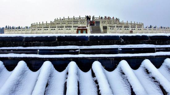 圜丘冬韵-张衍