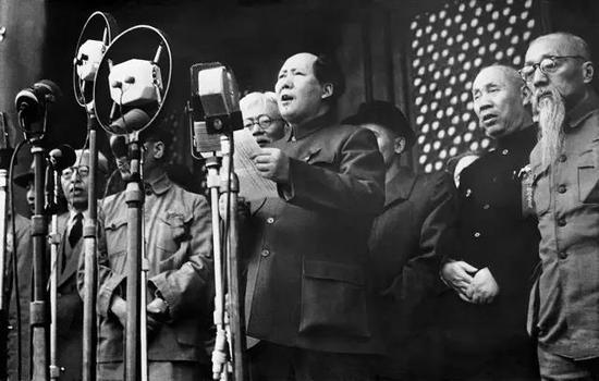 开国大典 (1949年) 侯波 摄