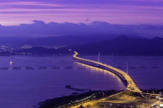 深圳湾跨海大桥-钟亦武