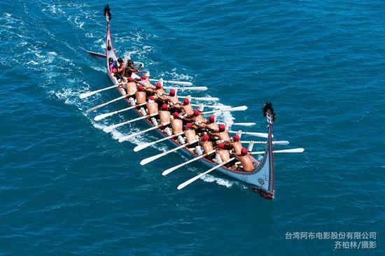 台东,兰屿拼板舟