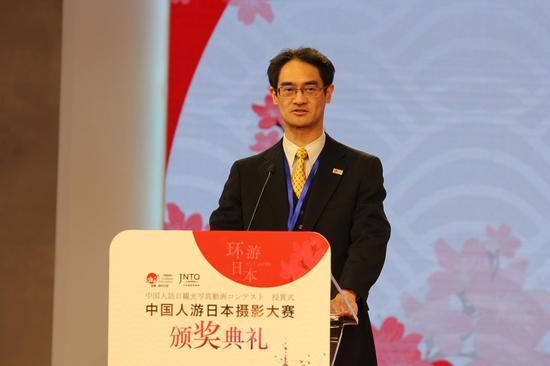 日本国家旅游局北京事务所所长服部真树致辞