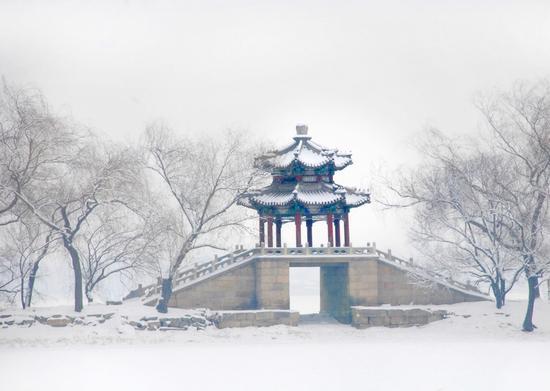 镜桥四季组照之冬雪-高志宏