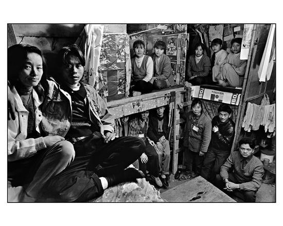 张新民《10平方米的空间》深圳沙井镇万丰村 1997
