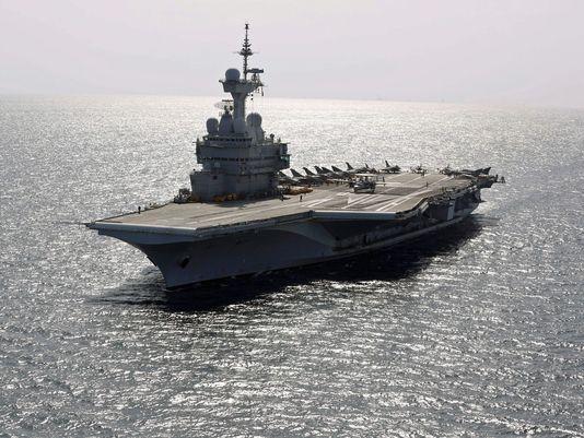 法国确认将派唯一核动力航母赴波斯湾打击IS