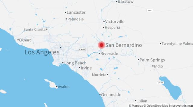 美国加州发生枪击事件 已致至少14人死亡
