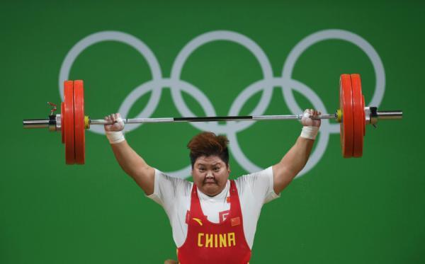 第15金!女子举重75kg以上级孟苏平夺冠