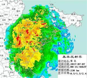 青岛的雨终于等来了 预计今天将持续降水(图)
