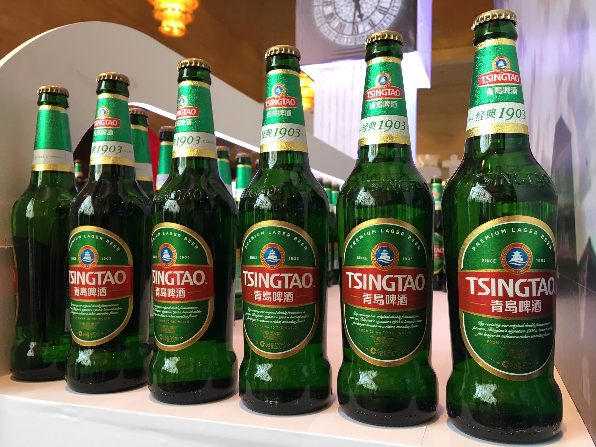 全球举杯共分享 青岛啤酒远销100个国家暨一带一路市场拓展发