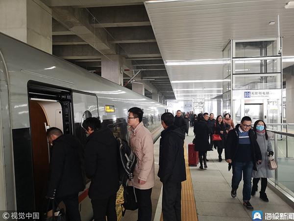 春运将至 山东铁路客流量持续增长