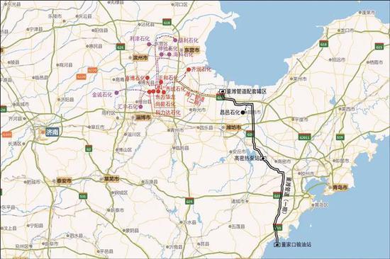 新闻频道 青岛资讯 > 正文    二期工程输油管道途经潍坊,东营,滨州3