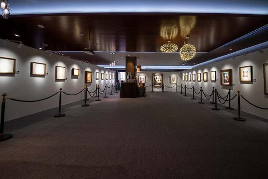 毕加索油画真迹展已登陆青岛 世界级当代艺术展献礼国庆