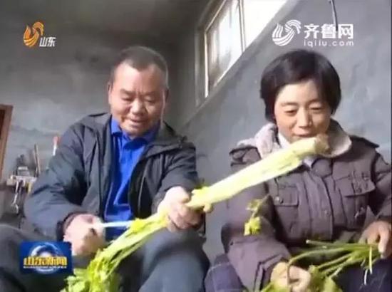李书江的脱贫故事曾被《山东新闻联播》报道